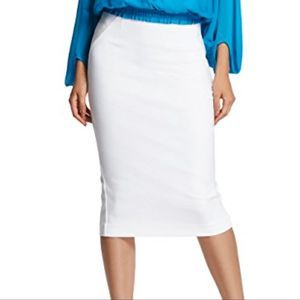 Guess by Marciano White Pencil Skirt Size 4